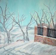 Picturi de iarna Senin de iarna