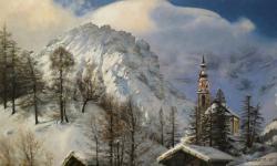 Picturi de iarna Poveste de Iarna