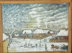 Picturi de iarna Imagine de poveste