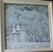 Picturi de iarna Manastirea varatic