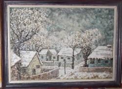 Picturi de iarna Tristete alba