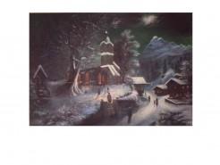 Picturi de iarna Noaptea de craciun