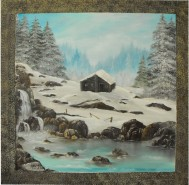 Picturi de iarna Singuratate