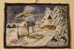 Picturi de iarna Noapte de iarna