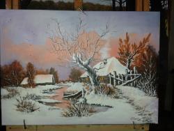 Picturi de iarna albul zapezii
