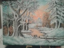 Picturi de iarna dimineata de iarna 5