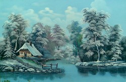 Picturi de iarna Iarna bogata