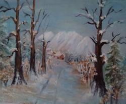 Picturi de iarna Iarna mirifică