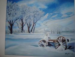 Picturi de iarna nameti