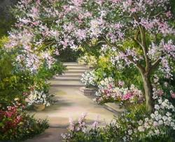 Picturi cu peisaje ALEEA PRIMAVERII (2)