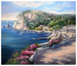 Picturi cu peisaje AMINTIRI INSORITE
