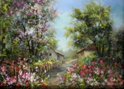 Picturi de primavara IN GRADINA CU PRIMAVARA