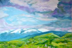 Picturi de primavara Inaintea furtunii