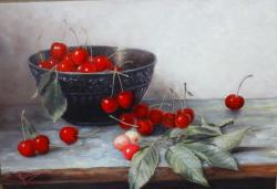 Picturi de primavara Cirese
