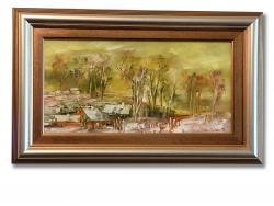 Picturi de primavara Peisaj de Primavara Sinaia