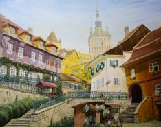 Picturi de primavara Sighisoara