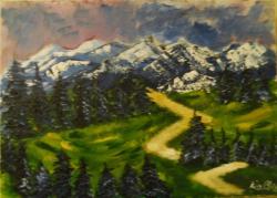 Picturi de primavara Peisaj1