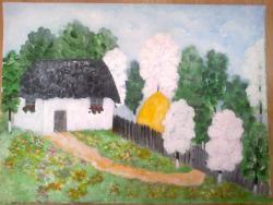 Picturi de primavara La Tara