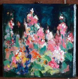 Picturi de primavara Primavara de culori