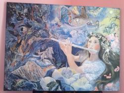 Picturi de primavara Zana lunii Aprilie