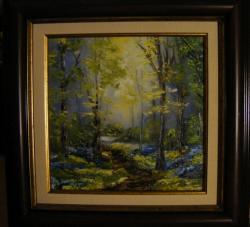 Picturi de primavara Spre lumina aurie