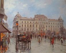Picturi de primavara Fostul hotel bulevard bucuresti