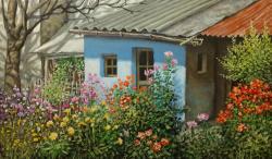 Picturi de primavara cocioaba cu flori