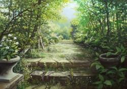 Picturi de primavara Parcul parasit 2