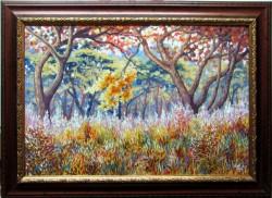 Picturi de primavara Peisaj bizar 2