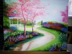 Picturi de primavara Gradina edenului