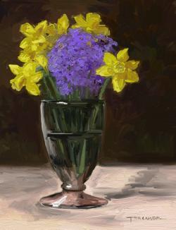 Picturi de primavara flori de primavara 11