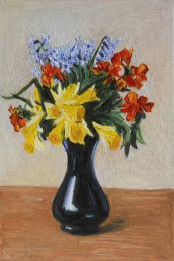 Picturi de primavara flori de primavara 3