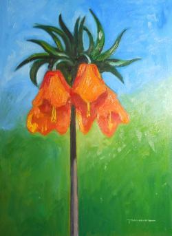 Picturi de primavara o floare pentru primavara