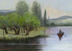 Picturi de primavara Peisaj primavara1