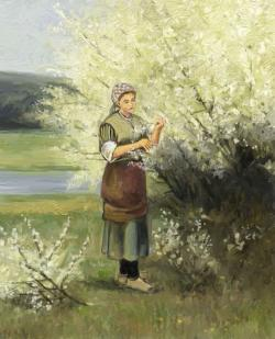 Picturi de primavara primavara in floare 2