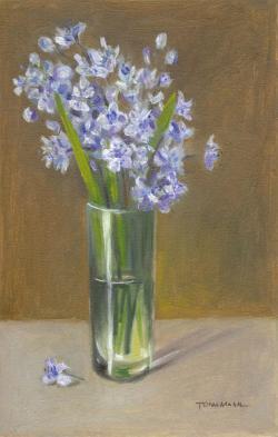 Picturi de primavara violete de padure