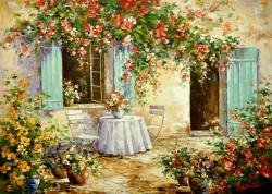 Picturi de primavara Locul cu flori-2