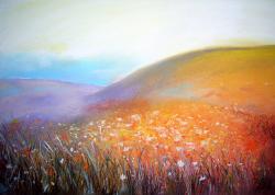 Picturi de vara Flowers Fields 1