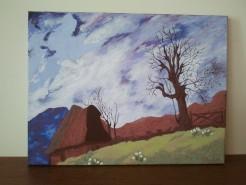 Picturi de primavara Semne timide de primavara