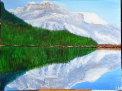Picturi de primavara Doua lumi