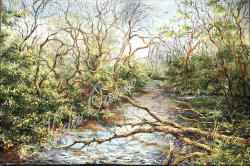 Picturi de primavara Dansul copacilor
