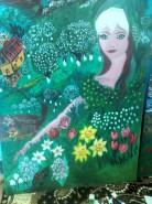Picturi de primavara Primavara copiilor