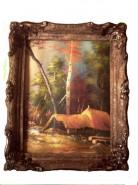 Picturi de primavara Copac rasturnat