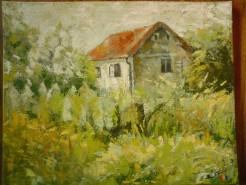 Picturi de primavara Casa veche