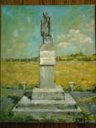 Picturi de primavara Statuia din campul libertatii lugoj