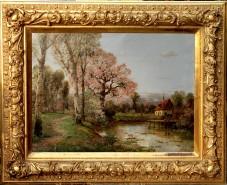 Picturi de primavara Peisaj de primavara