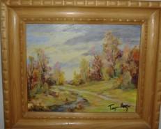 Picturi de primavara Peisaj barsana maramures