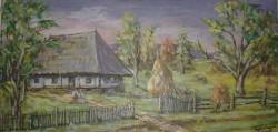 Picturi de primavara Peisaj in dealul corbului