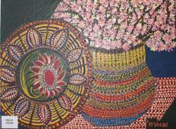 Picturi de primavara Flori roz