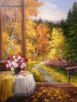 Picturi de toamna SUB ARIPA TOAMNEI